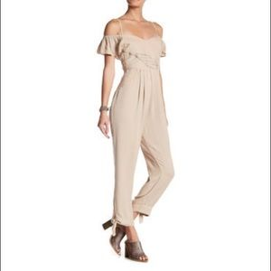 Free People In The Moment Off Shoulder Jumpsuit